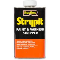 Rustins Strypit Paint and Varnish Stripper 250ml / 500ml / 1L / 2L / 4 Litre