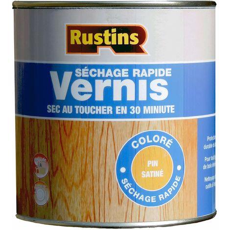 Rustins VSPI1000 1 Litre Quick Dry Varnish Satin - Pine