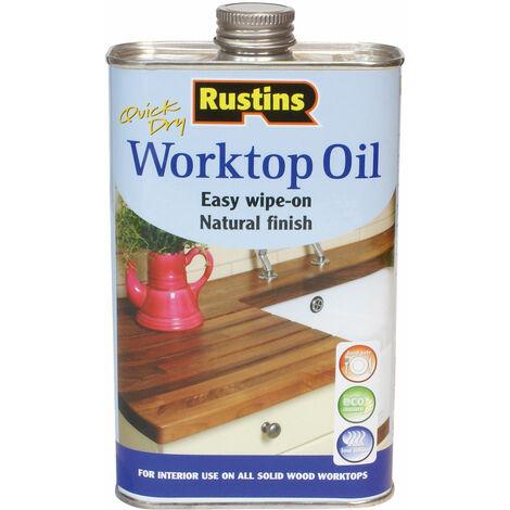 Rustins WOIL1000 Worktop Oil 1 Litre