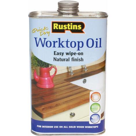 Rustins WOIL500 Worktop Oil 500ml