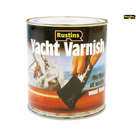 Rustins Yacht Varnish ALL SIZES TYPES AVAILABLE