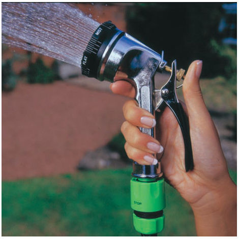 Rutland 6-DIAL Chromed Spray Gun