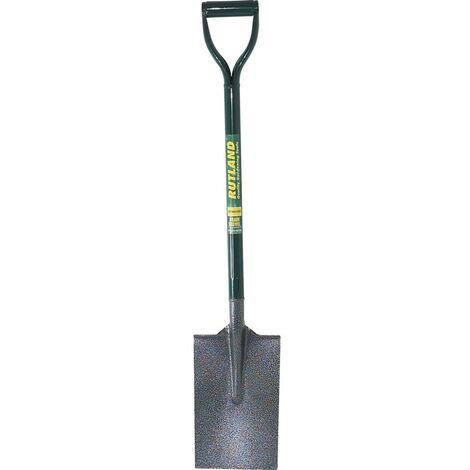 Rutland Contrators Tools C/s Drain Shovel Metal Shaft
