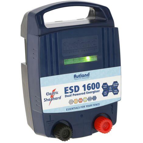 Rutland Électrificateur de clôture électrique ESD 1600 1,6 J