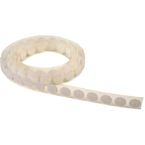 RVFM 87-2002A White Hook Dots 12mm Dia. Pack Of 100