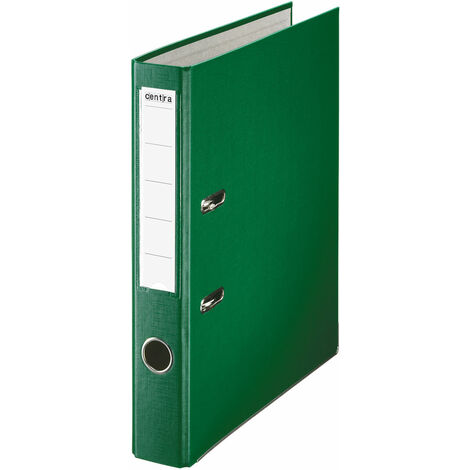 RVFM A4 Folder Lever Arch File 50mm Polypropylene/Paper with Metal Shoe Green