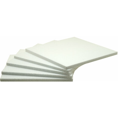 RVFM Polystyrene Sheets 300x300mm - Pack of 20