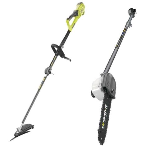 RYOBI 1200W RBC1226l Electric Brush Cutter Pack - Expand it chain pruner RXPR01