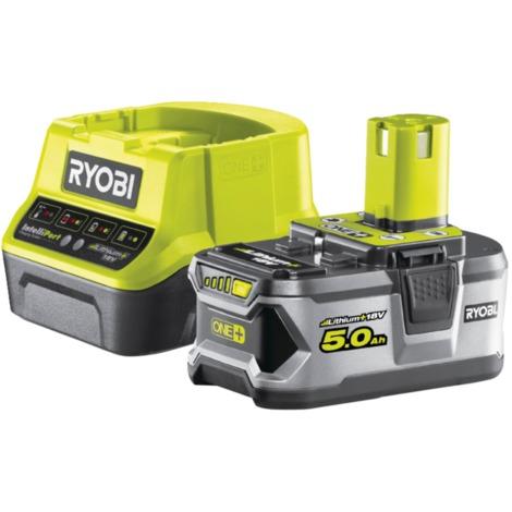 Ryobi 18 V Akku-Starterset RC18120-150, Set, gelb/schwarz, Ladegerät + Akku