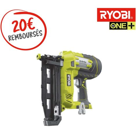 RYOBI 18 V OnePlus Air Nailer without battery and charger R18N16G-0