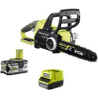 RYOBI 18V Brushless Cut-Off Machine OnePlus motor - 1 battery 5.0 Ah - 1 charger RCS18X3050F