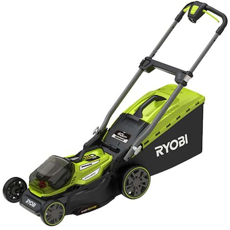 RYOBI 18V LithiumPlus Brushless Mower - cuts 40cm - 2 batteries 4.0 Ah - 1 quick charger - RY18LMX40A-240