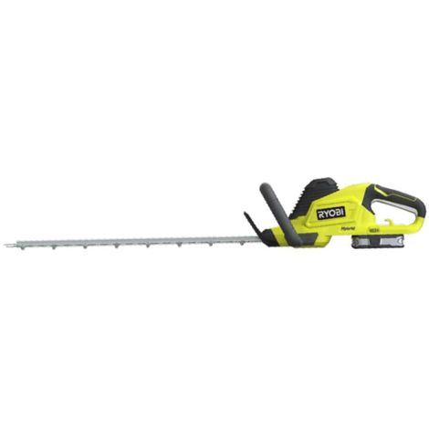 RYOBI 18V One + hybrid hedge trimmers - 1 battery 2.5Ah - 1 charger RHT1850H25HS