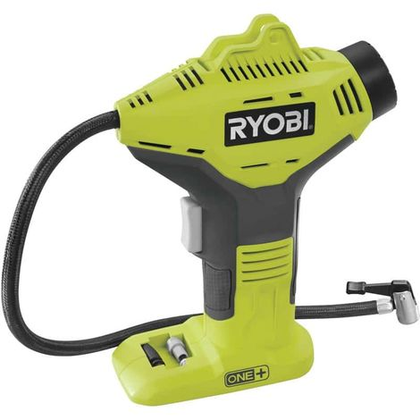 RYOBI 18V One Plus compressor - without battery or charger R18PI-0