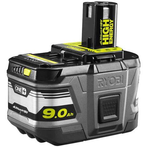 RYOBI 18V OnePlus 9 0Ah LithiumPlus 18V Battery - Hight Energy RB18L90