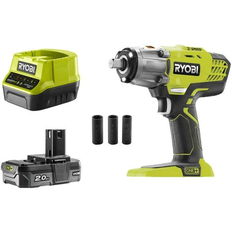 Ryobi R18IW3-0 18V ONE 3 Speed Impact Wrench Bare Unit