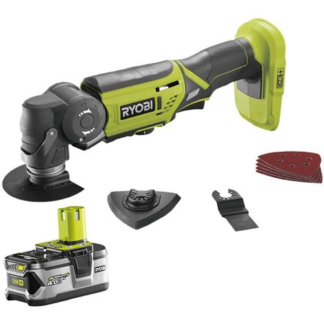 RYOBI 18V OnePlus LithiumPlus Multifunction Tool - 1 4.0Ah battery - 1 quick charger - R18MT-140S