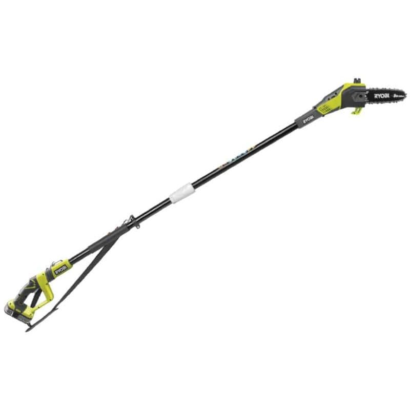 ryobi 18v oneplus lithiumplus pole chain pruner 1 battery 1 5ah