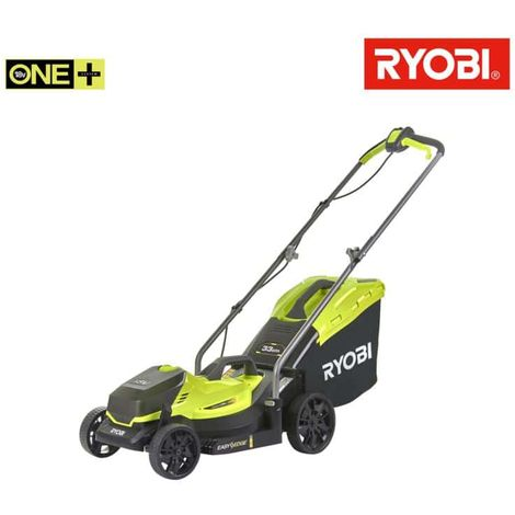 RYOBI 18V OnePlus push mower cuts 33 cm - without battery and OLM1833B charger