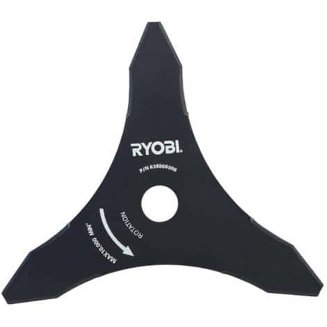 RYOBI 3-teeth blade tri-arc diameter 26cm for brushcutters RAC117