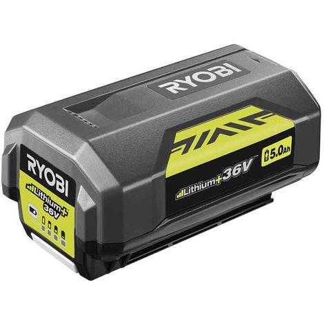 RYOBI 36V LithiumPlus 5.0 Ah RYOBI Battery BPL3650D2