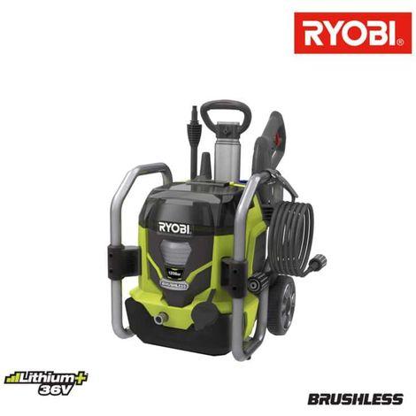 RYOBI 36V LithiumPlus limpiador de alta presión sin carbón RPW36120HI