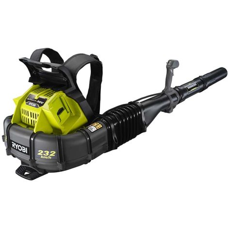 RYOBI 36V OnePlus Brushless Backpack Blower - Without Battery or Charger RY36BPXA-0