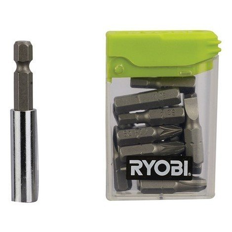 Ryobi 5132002679 RAK16FP Flat Pack Furniture Screwdriver Bit Set of 16
