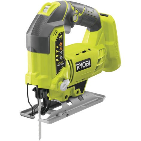 RYOBI - 5133002158 - R18JS-0 - Sierra de calar de 18 V, sin batería