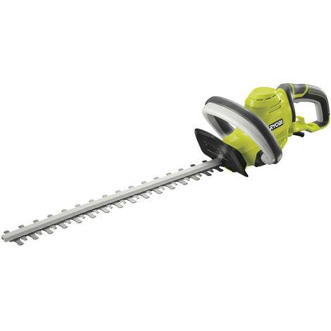 RYOBI - 5133002795 - RHT5150 - Cortasetos eléctrico de 500W, espada de 50cm, capacidad de corte de 22 mm