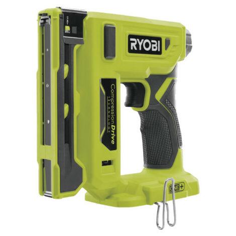 RYOBI Agrafeuse T50 18V - agrafes T50 de 6,35 a 14,3 mm