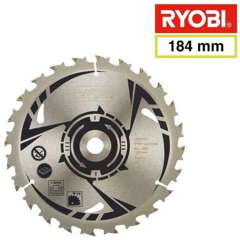 RYOBI carbide blade for circular saw 184 mm 24 teeth CSB184A1