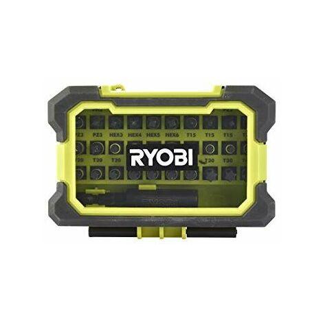 Ryobi Coffret antichocs SPÉCIAL IMPACT 31 accessoires de vissage - RAK31MSDI
