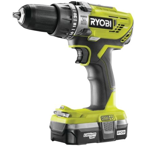 Ryobi Combi Drill 18V 1 x 1.3Ah Li-ion