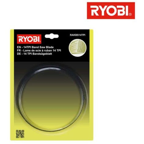 RYOBI fine cutting blade for band saw RBS904 RAKBS14TPI