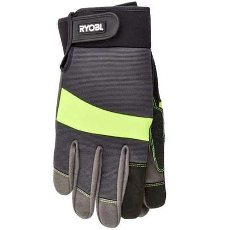 RYOBI gardening gloves reinforced and tactile - Size XL RAC811XL
