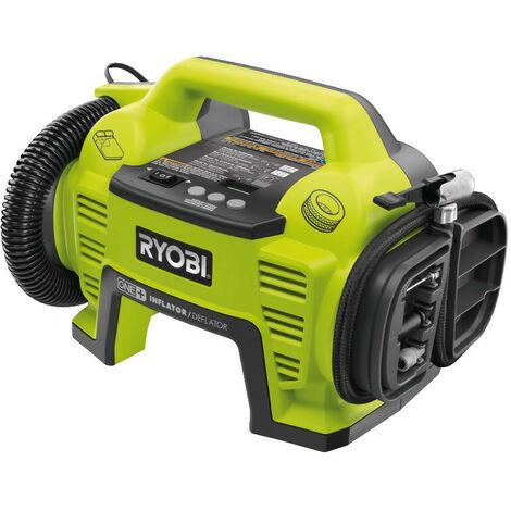 Ryobi - Gonfleur compresseur 18 V One+ sans batterie ni chargeur 10.3 bar - R18I-0