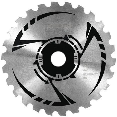 Ryobi - Hoja de sierra 26 dientes Ø 20 cm para desbrozadoras térmicas - RAC136