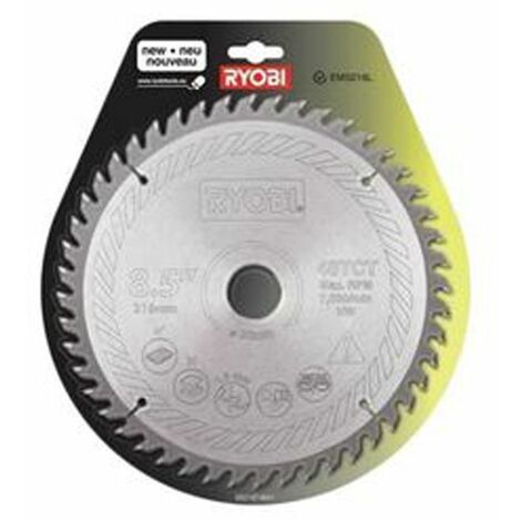 Ryobi Lame carbure 216 mm scie à coupe d'onglet SB216T48A1 - 5132002620