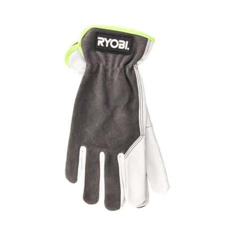 RYOBI Leather Gardening Gloves L RAC810L