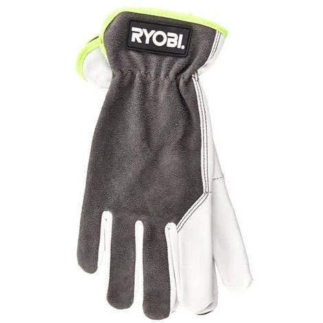 RYOBI leather gardening gloves - Size XL RAC810XL