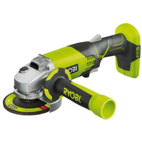 Ryobi - Meuleuse d'angle à batterie 18V One+ 115 mm ( sans batterie) - R18AG-0 - TNT