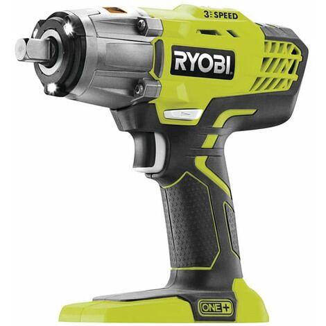 Ryobi ONE+ R18IW3-0 18V, 400Nm Cordless 3-Speed Heavy Duty Impact Wrench (Body Only)