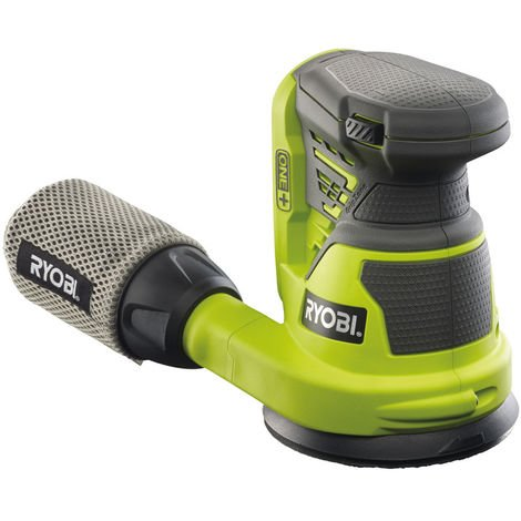 Ryobi ONE+ R18ROS-0 18V Cordless 125mm Random Orbit Sander (Body Only)