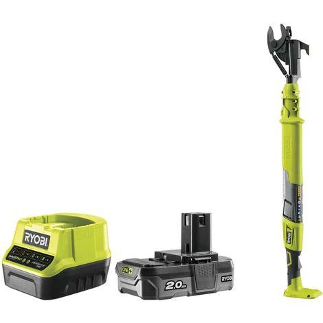 RYOBI OnePlus 18V branch cutter - 1 battery 2.0Ah - 1 charger - OLP1832B-KIT