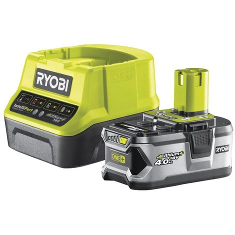 Ryobi - Pack chargeur rapide 2.0 A + 1 batterie Lithium+ 18 V 4.0 Ah One+ - RC18120-140 - TNT