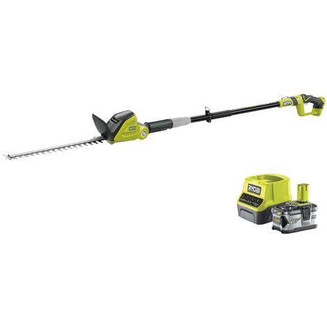 RYOBI pack hedge trimmer 18V OnePlus OPT1845 - 1 battery 18V OnePlus 4.0Ah - 1 fast charger RC1820-140