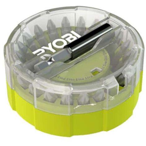RYOBI pallet with 22 RAK22SDHOK screwing accessories