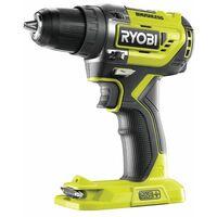 Ryobi Perceuse-visseuse 2 vitesses 18V, brushless, R18DD5-0 - 5133003596