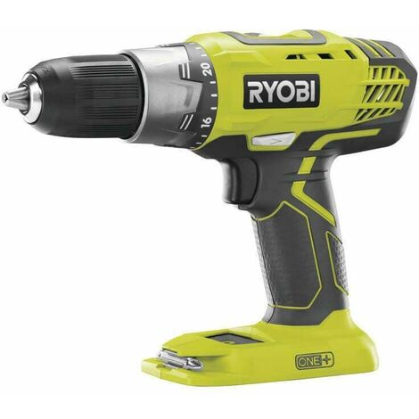Ryobi Perceuse-visseuse 2 vitesses 18V, ONE+, sans batterie ni chargeur - R18DDP2-0